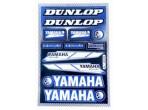Stickerset Yamaha Blauw