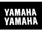 Stickerset Yamaha Wit