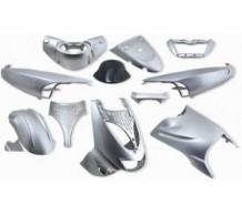 Beplatingset Zilver Aprilia SR