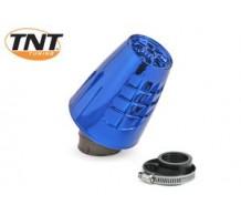 TNT Powerfilter Obus Blauw Geanodiseerd