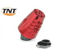 TNT Powerfilter Obus Rood Geanodiseerd