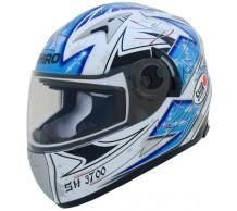 Shiro Helm SH3700 Blauw met F16 zonnevizier