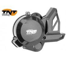 TNT Vliegwieldeksel Carbon Geanodiseerd