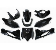 Beplatingset Yamaha Jog Zwart Metallic