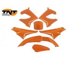 TNT Beplatingset  Derbi Senda Orange