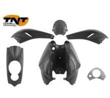 TNT Beplatingset Peugeot Ludix Zwart Metallic