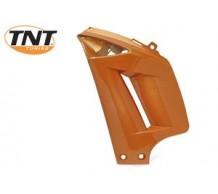 Oranje metallic Luchthapper links