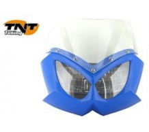 TNT Voorkap Eagle blauw met transparant glas