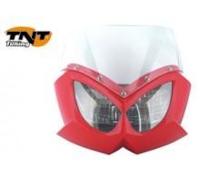 TNT Voorkap Eagle rood met transparant glas