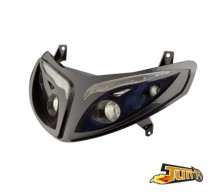 TunR Koplamp Zwart LED Speedfight 2 / Motorhispania RX2