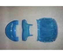Achterlichtglas Blauw NRG-MC2