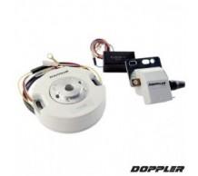 Doppler Variable Binnenrotor Ontsteking met licht