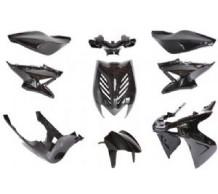 Beplatingset Yamaha Aerox Zwart Metallic
