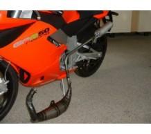 Malossi MHR 80 uitlaat Derbi GPR 2004-2010 Aprilia RS50 2006-2011