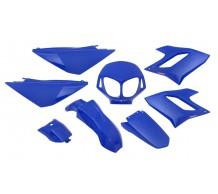 Kappenset Blauw Derbi Senda DRD PRO - DRD Racing
