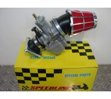 Speedline Race 28mm Keihin Replica PWK carburateur kit Honda MB / MT / MTX / MBX / NSR