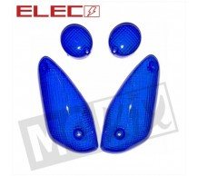 Knipperlichtglas set Blauw Yamaha Aerox