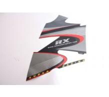 Sticker Kuip Rechts Boven Zwart RX