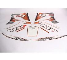 Stickerset Motorhispania RYZ Oranje