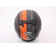 MT Helm Blade SV Raceline Mat Zwart / Oranje