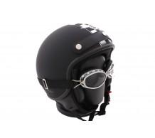 MT Helm Custom Rider Flag Mat Zwart