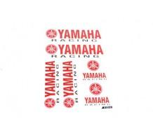 Stickerset Yamaha Racing