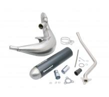 Tecnigas E-Nox-Steel uitlaat Aprilia MX50 - RX50 Minarelli AM6