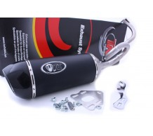 Turbokit GMAX Cityline Carbon Uitlaat SYM Mio50 / Orbit2 / Peugeot New Vivacity 4T / Speedfight3 4T