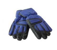 Winterhandschoenen Zwart/Blauw (XL)