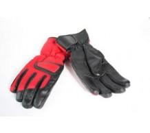 Winterhandschoenen Zwart/Rood (L)