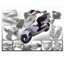 DMP Kappenset Zilver Yamaha Aerox