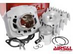 Airsal 50cc Cilinder + Kop Piaggio AC