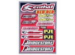 Stickerset Renthal Showa Bidgestone