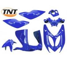 TNT Beplatingset Blauw Metallic