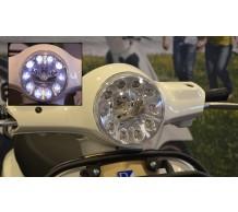Vespa LX Koplamp met LED dagverlichting