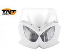 TNT Voorkap Eagle Wit met transparant glas
