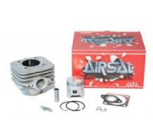 Airsal 70cc Cilinderkit Piaggio 2T Luchtgekoeld