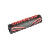 Doppler Stuurrol rood15.5cm