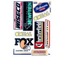Stickerset Chesterfield Rothmans Wiseco