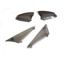 Knipperlichtglas Set Carbon Peugeot Buxy - Zenith