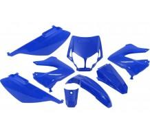 Beplatingset Blauw Derbi Senda