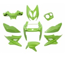 Kappenset Yamaha Aerox Groen Flip Flop Metallic
