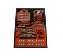 KTM Sponsor Stickerset