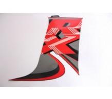 Sticker Kuip Rechts Midden Zwart RX