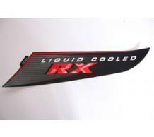 Sticker Zijscherm Links Zwart RX