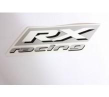 Sticker Voorscherm Logo RX