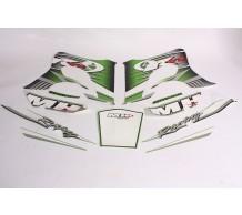 Stickerset Motorhispania RYZ Groen