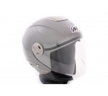MT Jet Helm City Eleven Dynamic Grijs Antraciet