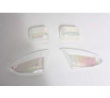 Knipperlichtglas set Laser Aprilia SR