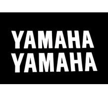 Stickerset Yamaha Wit